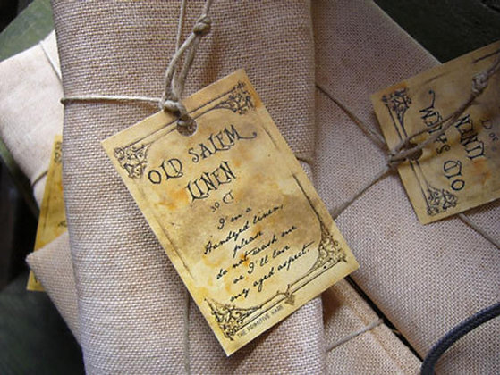 30 Count Old Salem Linen Big Cut by The Primitive Hare