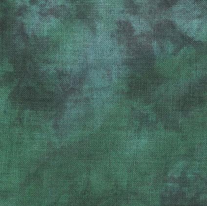 36 Count Dark Forest Fat Quarter Hand-Dyed Linen by xJudesign