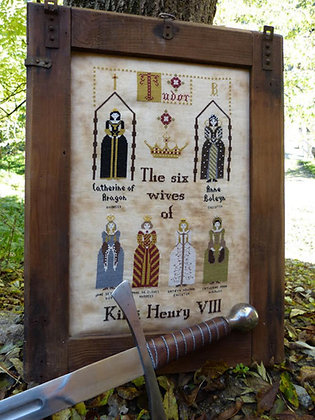 The Six Wives of Henry VIII by The Primitive Hare