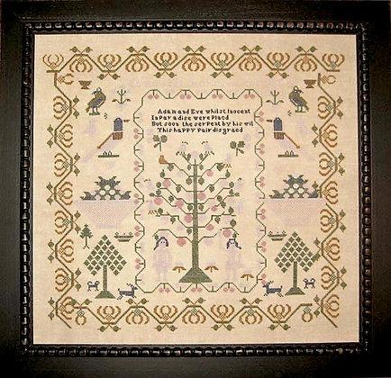 Elizabeth Jackson 1824 by Samplers Revisited