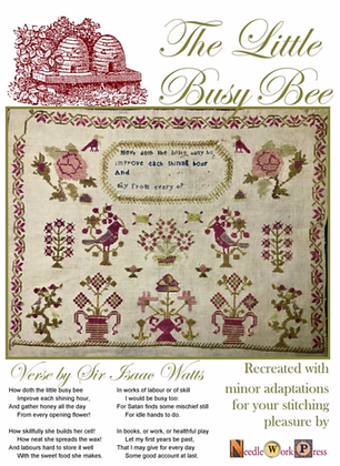 NASH-STASH The Busy Little Bee by Needlework Press