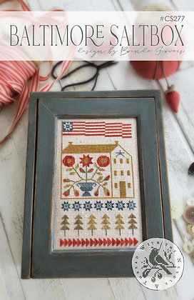 Baltimore Saltbox by With Thy Needle & Thread