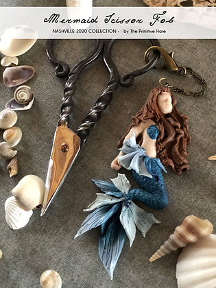 NASH-STASH Mermaid Scissor Fob by The Primitive Hare