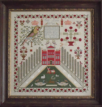 Elizabeth Lamb 1837 by Samplers Not Forgotten