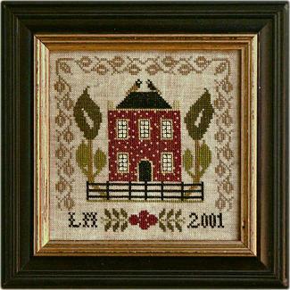 Little Red House by La-D-Da