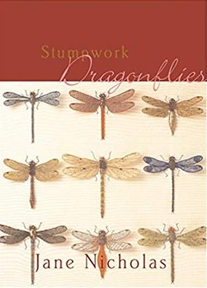 Stumpwork Dragonflies by Jane Nicholas OUT OF PRINT