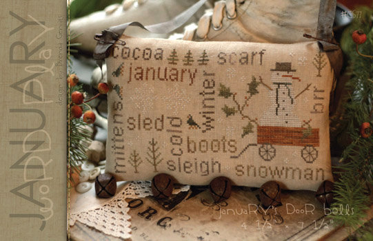 January Word Play by With Thy Needle & Thread