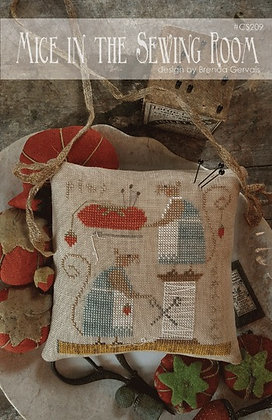Mice in the Sewing Room by With Thy Needle & Thread Brenda Gervais
