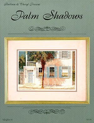 CATS Palm Shadows by Graphs by Barbara & Cheryl