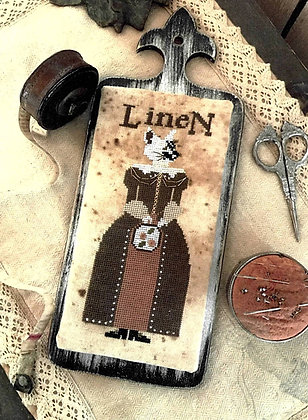 Miss Linette Lynn Linen by The Primitive Hare