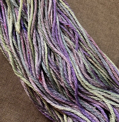 Wild Violets Silk N Colors by The Thread Gatherer