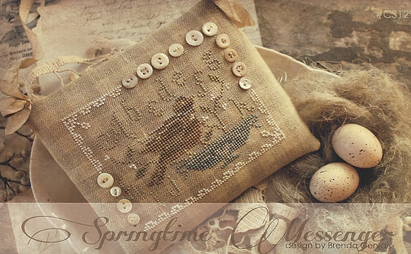 *Springtime Messenger by With Thy Needle & Thread