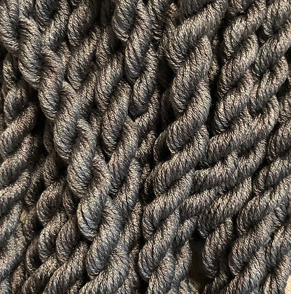 Pewter Dark 6-yards, 12-stranded Silk Floss by Gloriana