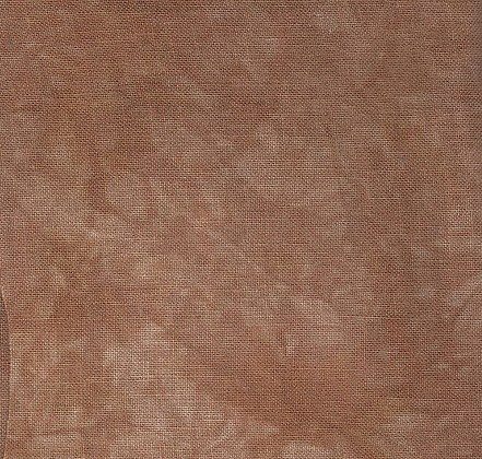36 Count Gingerbread Fat Quarter Hand-Dyed Linen by Picture This Plus