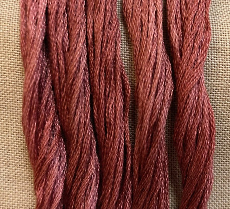 Tennessee Red Clay Classic Colorworks Cotton Threads 5-yard Skein