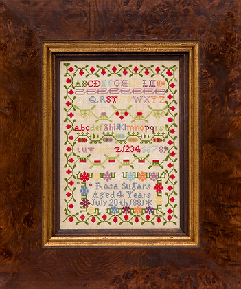 Rosa Sugars 1881 DOWNLOAD  by Hands Across the Sea Samplers
