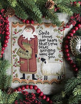 NASH-STASH Santa Knows by Teresa Kogut