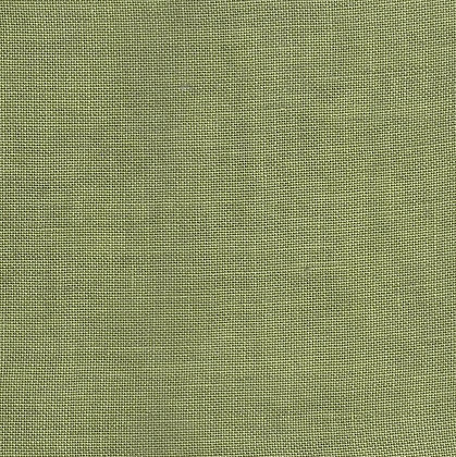 36 Count Guacamole Fat Quarter Hand-Dyed Linen by Weeks Dye Works