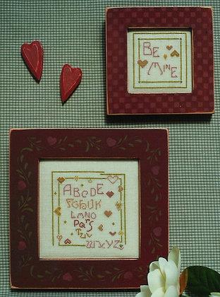 Twin Hearts Sampler by Brightneedle
