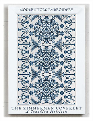 The Zimmerman Coverlet by Modern Folk Embroidery