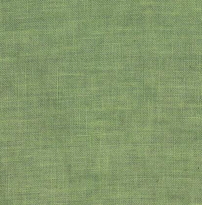 40 Count Sampler Green Fat Quarter Hand-Dyed Linen by xJudesign