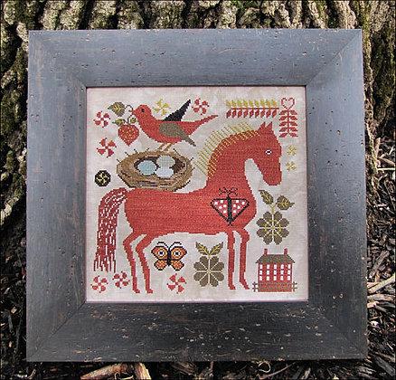 Fiona & Edward cross stitch chart by Kathy Barrick