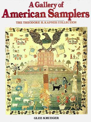 HARDCOVER A Gallery of American Samplers by Glee Krueger