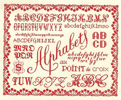 Alphabets (Large) by Marjorie Massey C30