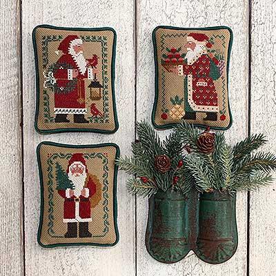 Santas Revisited II by The Prairie Schooler