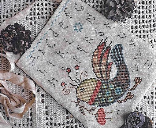 Funky Bird by Barbara Ana Designs