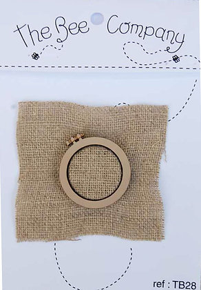 Natural Wooden Hoop by The Bee Company TB28
