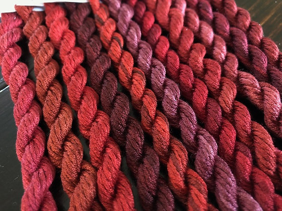 THE REDS Silk Pack by Gloriana Threads