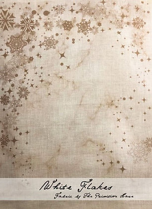 30 Count White Flakes Linen by The Primitive Hare