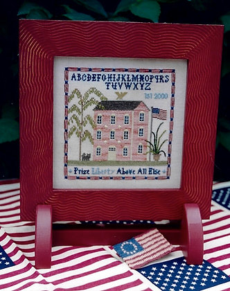 Liberty Mill Sampler WITH LINEN by Chessie & Me