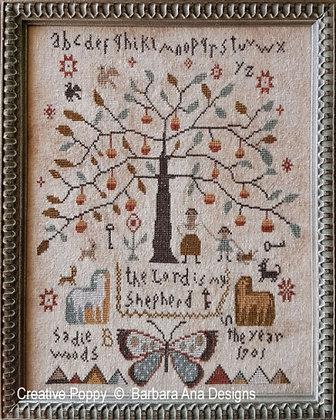 Sadie Wood 1901 by Barbara Ana Designs