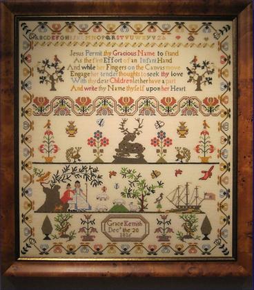 Grace Kemish 1816 by The Scarlet Letter