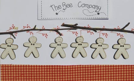 Gingerbread Garland by The Bee Company TB1P