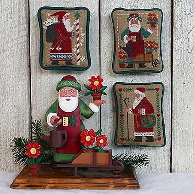 Santas Revisited III by The Prairie Schooler