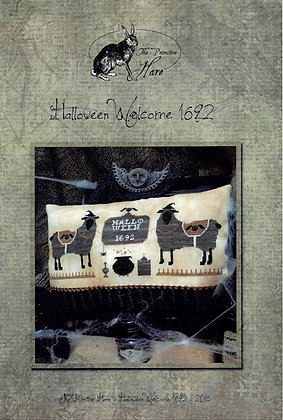 Halloween Welcome 1692 by The Primitive Hare
