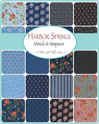 Harbor Springs Fat Quarter Bundle by Minick & Simpson/Moda