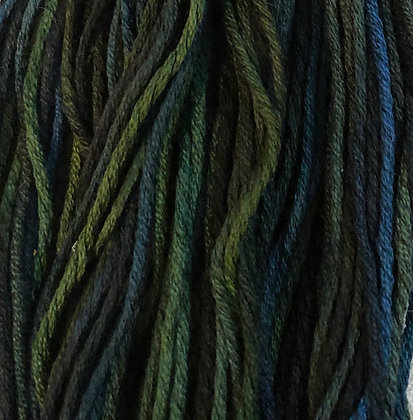 Tapestry Green Silk N Colors by The Thread Gatherer
