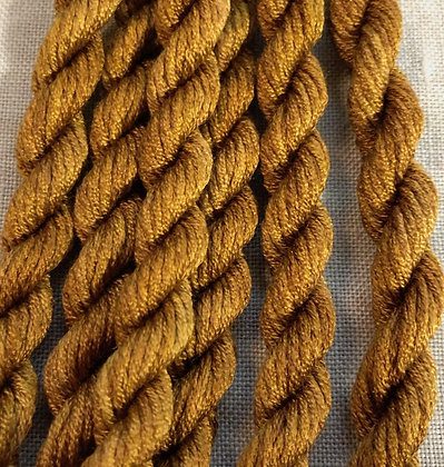 Lacquered Gold Gloriana 12-Strand Silk 6 Yards
