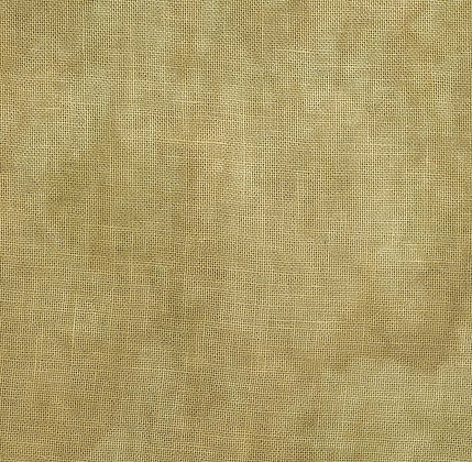 36 Count Wheat Fat Quarter Hand-Dyed Linen by Fiber on a Whi