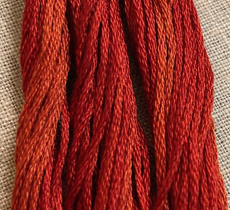 Chili Pepper Classic Colorworks Cotton Threads 5-yard Skein