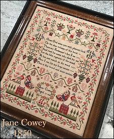 Jane Cowey 1850 by Scarlett House