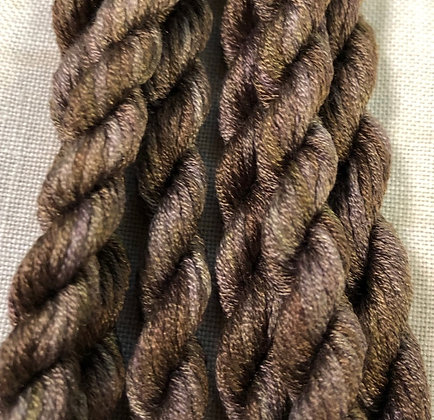 Mocha Gloriana 12-Strand Silk 6 Yards