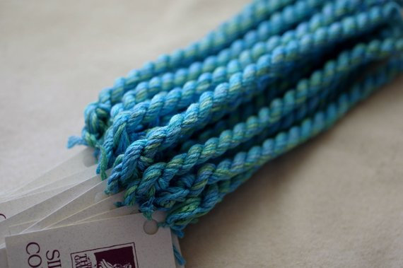 Mermaid Shimmer Silk N Colors by The Thread Gatherer