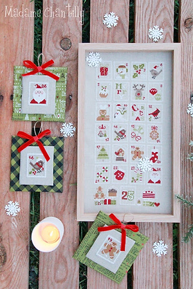 Christmas Stamps by Madame Chantilly