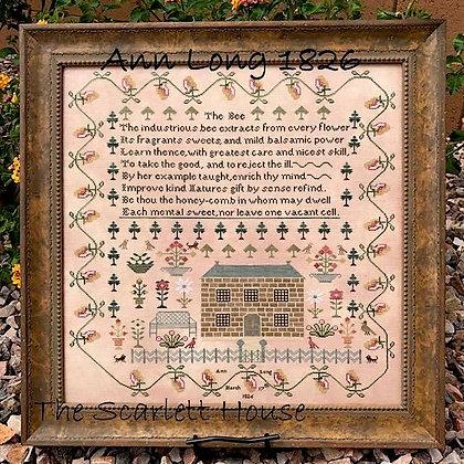 Ann Long 1826 by The Scarlett House