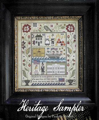 Heritage Sampler by Plum Street Samplers
